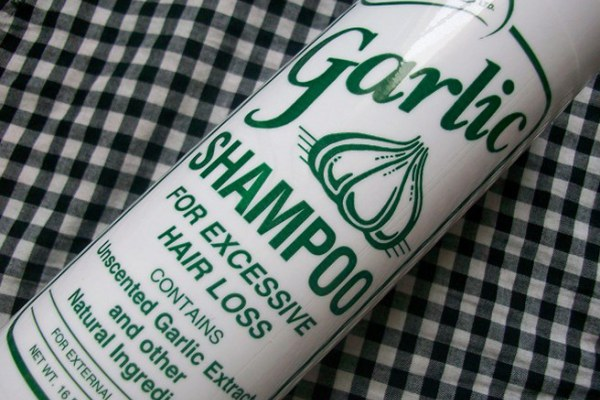garlic shampoo for hair loss review