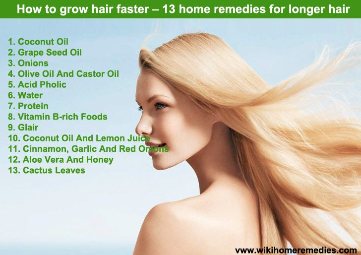 tips how to grow hair faster home remedies