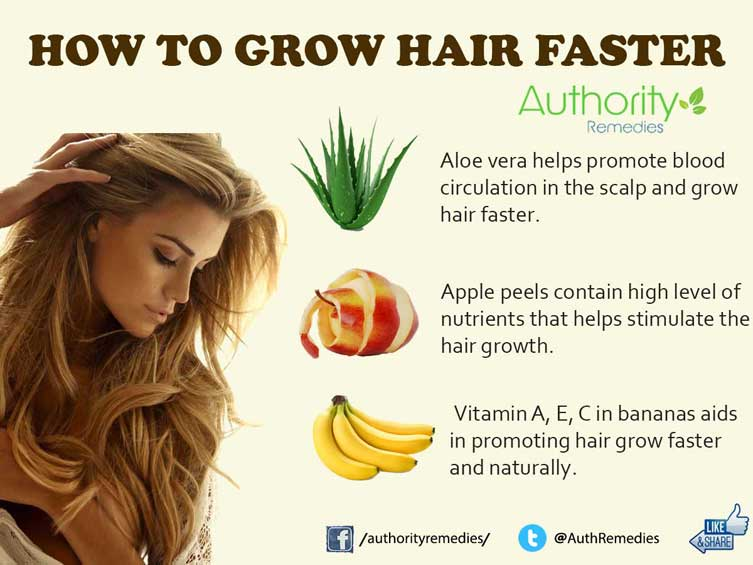 best ways to grow hair fast naturally